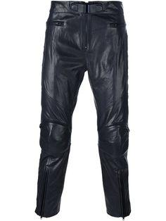 JUUN.J zipped legs cropped trousers. #juun.j #cloth #trousers