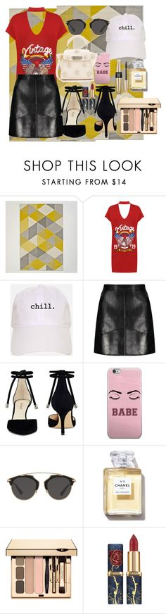 """""""Untitled #846"""" by brandi-gurrola on Polyvore featuring WearAll, Nine West, Christian Dior, Victoria's Secret and ZAC Zac Posen"""