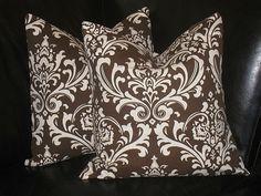 DAMASK pillows via Etsy
