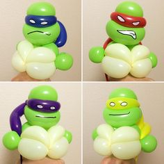 Mutant Turtles Bracelet #mutantturtles #balloonart #バルーンアート