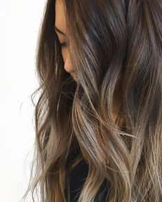 Pin by kelly russ on hair envy in 2019 прически, красота Asian Balayage, Brown Balayage, Balayage Brunette, Balayage Hair, Full Balayage, Haircolor, Hair Color Asian, Hair Color And Cut, Asian Hair