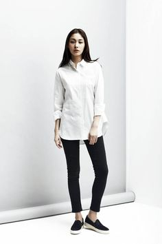 LOOKAST  CHAPTER #2 - White stylined long shirt