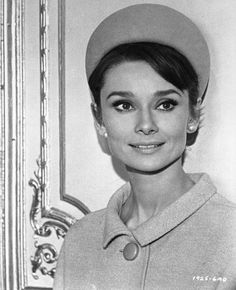 The actress Audrey Hepburn photographed by Hamilton Millard at an apartment that was rented to be the residence of her character Regina Lampert, located on Avenue Vélasquez, in the 8e arrondissement of Paris (France), during a break in the filming of...