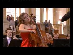 Daniel Barenboin & Alisa Weilerstein in Cello Concert Op 85 Adagio Moderato by Sir E,Elgar