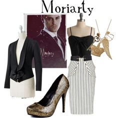 Fashionable Fandoms: Moriarty inspired fashion for women.  It's not Westwood, but it works.