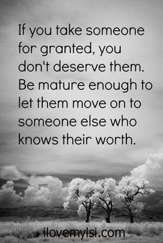 Taken for granted. - I Love My LSI