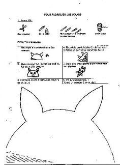 une souris en papier