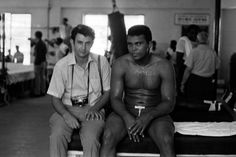"Danny Lyon and Ali in Miami, 1970.  Muhammad     Ali's first sounds were "" Gee-Gee, Gee-Gee."" His beautiful mother Odessa Clay called her son ""G-G"" for the rest of her life, and years later, Ali would say, ""After I won the Golden Gloves, I told Mama that from the very beginning, I was trying to say, 'Golden Gloves.' "" So began the life of Muhammad Ali, who celebrates his 70th birthday today.  Though many know him as the greatest boxer of all time, few know that it was actually the theft of…"