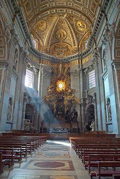 Basílica de San Pedro. Nave lateral