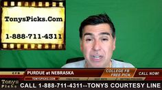 Purdue Boilermakers vs. Nebraska Cornhuskers Pick Prediction College Foo...