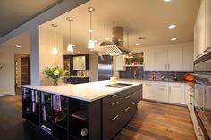 Modern Kitchen Renovation using Leicht cabinetry by CSI Kitchen & Bath Studio