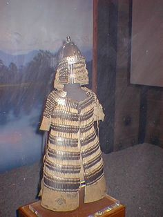 Yuan (mongol) armor, circa 1271–1368 AD.