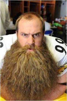 Brett Kiesel- rocked that beard!