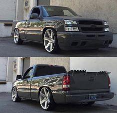Chevy Silverado Single Cab, Chevy Silverado Ss, Custom Silverado, Chevy Chevrolet, Chevy Trucks Lowered, Custom Chevy Trucks, Chevy Pickup Trucks, Classic Chevy Trucks, Mini Trucks