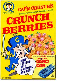 Crunchberries w/ Gyrocar by grickily, via Flickr