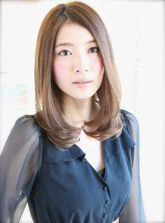 Beauty Box, Hair Beauty, Hair Color Asian, Medium Hair Styles, Long Hair Styles, Perm, Asian Girl, Hair Cuts, Hairstyle