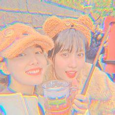 Aesthetic Indie, Aesthetic Themes, Aesthetic Girl, K Pop, Rose Pink Wallpaper, Tzuyu And Sana, Popteen, Sana Momo, Korean Girl Photo
