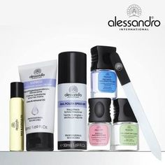 The Professional manicure products of Alessandro. #alessandrointernational
