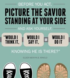 Elder Arnold If the Savior stood beside me Lds
