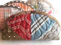 フォーパッチ ポーチ サイクル ミシンキルト パッチワーク four Patch purse Quilt Patchwork Nakazawa Felisa 中沢フェリーサ