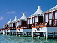 Chaaya Lagoon hakuraa huraa - water villa #voyagewave #maldivesholidays → www.voyagewave.com