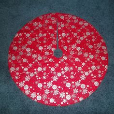 Grinch Tree Skirt Handmade Quilted 32 Round By Krissyde On Etsy