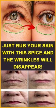 Just rub your skin with this spice and the wrinkles will disappear! Just rub your skin with this spice and the wrinkles will disappear! Just rub your skin with this spi Home Beauty Tips, Beauty Secrets, Diy Beauty, Beauty Hacks, Homemade Beauty, Beauty Products, Beauty Ideas, Beauty Advice, Beauty Guide
