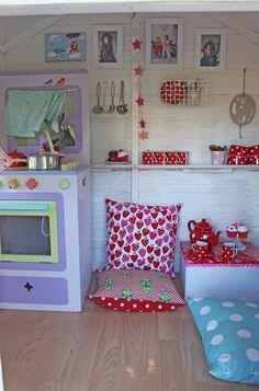 Aménager une cabane de petite fille / playhouse