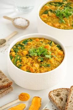 Healthy Foods To Eat, Healthy Eating, Healthy Recipes, Red Split Lentils, Dairy Free Soup, Juice Of One Lemon, Red Lentil Soup, Frozen Spinach