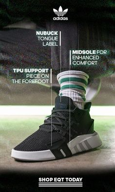 new arrival 30d01 908e9 Boasting contemporary technology whilst maintaining the depth of our  aesthetic, EQT BASK ADV presents a · Mens Boots FashionMens Shoes ...