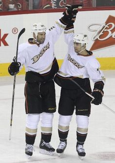 FIRST STAR: #34 Daniel Winnik, Anaheim Ducks
