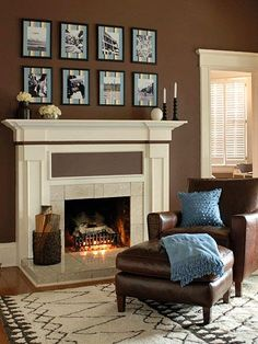 Build a Fireplace Surround and Mantel | Fireplaces, Spaces and ...
