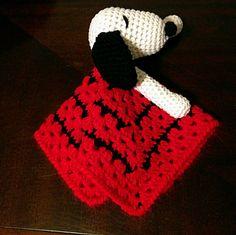 Snoopy Lovey by BabiesLoveLoveys on Etsy