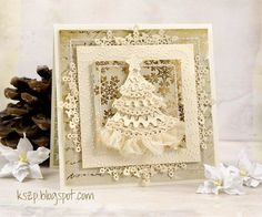 NEW RELEASE SHOWCASE DAY 3 from our Design Team! Card by Klaudia Kszp featuring these Dies - Build-a-Christmas Tree, Stitched Elements, Ornate Snowflakes :-)   Shop for our NEW products here - http://shop.lalalandcrafts.com/NEW_c16.htm.  More Design Team inspiration here - http://lalalandcrafts.blogspot.ie/2014/09/september-new-release-showcase.html