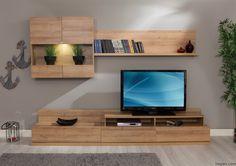 2017 Moda Life Tv Unit Models and Prices Interior Design Living Room, Living Room Designs, Living Spaces, Interior Livingroom, Life Tv, Tv Unit Design, Vintage Tv, Beautiful Interiors, Exterior Design