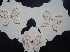 Beautiful 3D Butterfly Gift Tags/Favour Tags