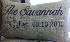 Burlap+Decorative+Throw+Pillow+Cover++10+inch+by+AudreysHandMade,+$52.00