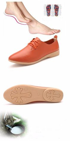 4099f666a04c YAERNI Split Leather Oxford Shoes For Women Pointed Toe Casual Nurse Shoes  Autumn Flat With Leather Women Loafers Shoes 2017