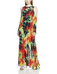 10 (Manufacturer Size:Medium), Multicoloured, Jaded London Women's Rasta Tie Dye