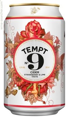 Tempt No.9 Strawberry & Lime Cider, Denmark