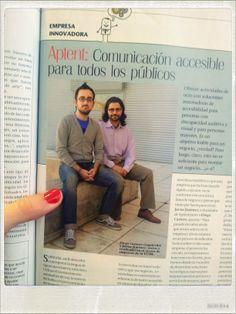 ¡Diego y Javier aparecen este mes en la Revista Emprendedores!
