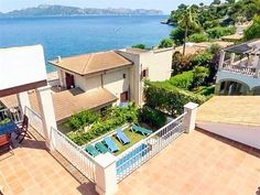 Large Finca Bon Gran with sea view and pool for 12 people in Bonaire in Port d Alcudia.