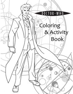 I think I have to have this! Doctor Who coloring pages! Links to an open Google Doc PDF you can print at home.