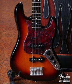 Mini Guitar - Fender Sunburst Jazz Bass