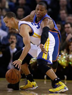 Curry vs Westbrook