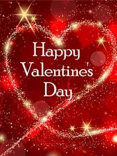 Amazing valentines day animated gifs images free download happy sparkling heart happy valentines day card let your love sparkle this valentines day this m4hsunfo Choice Image