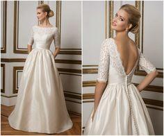 Os 100 vestidos de noiva de estilistas internacionais mais espetaculares: qual é a sua escolha? Image: 74