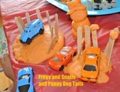 Frogs and Snails and Puppy Dog Tails: Orange Jello Playdough