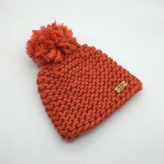 Chunky knit pompom hat | Freda Moss Designs
