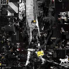 Collage Artwork: Collage Art by Derek Gores Amazing artist